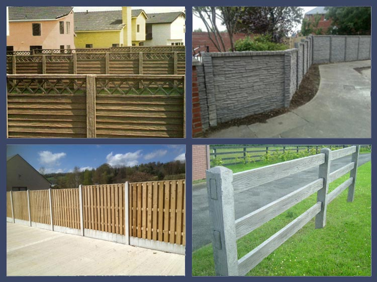 Concrete Fences