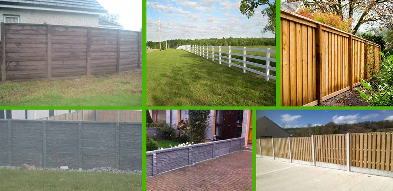 garden fencing dublin u0026 wicklow timber fencing ireland